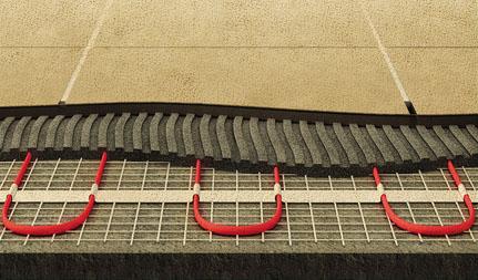 Устройство электрического теплого пола под плитку